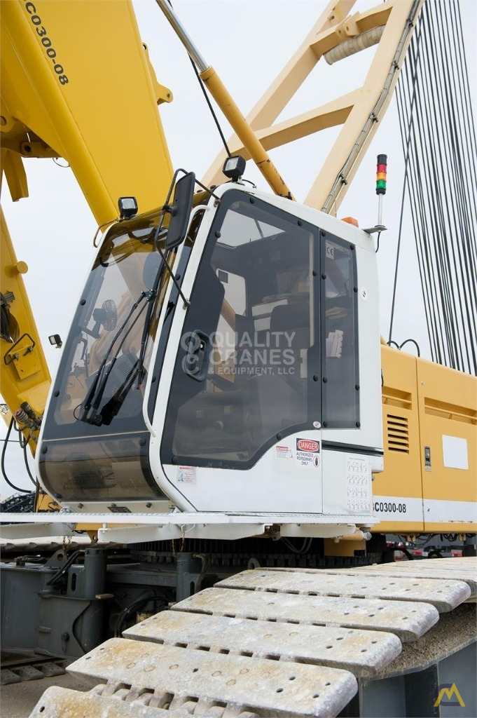 Liebherr LR 1280 300-Ton Lattice Boom Crawler Crane 17