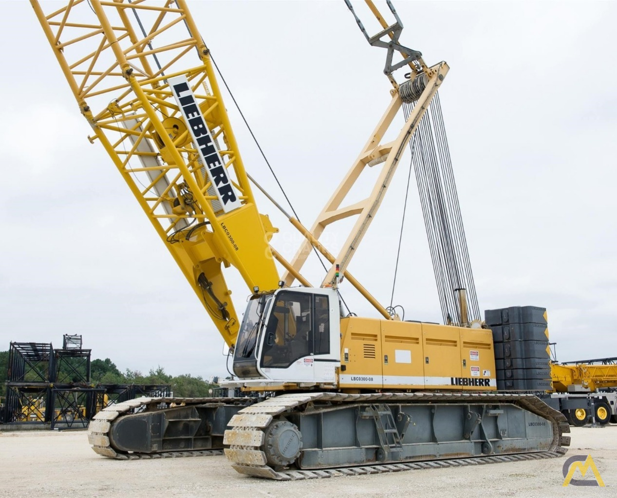 Liebherr LR 1280 300-Ton Lattice Boom Crawler Crane 0