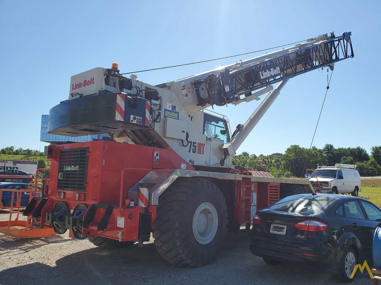 Link-Belt 75RT 75-ton Rough Terrain Crane 3