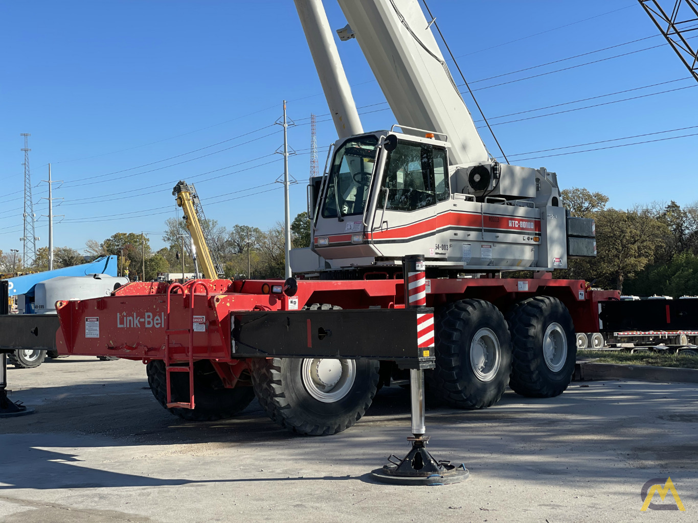 Link-Belt RTC-80100 100-Ton Rough Terrain Crane 0