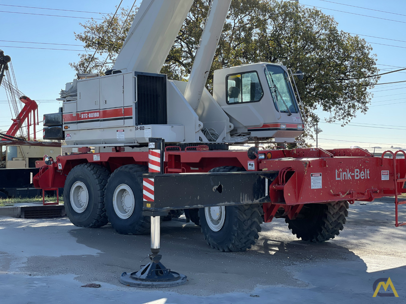 Link-Belt RTC-80100 100-Ton Rough Terrain Crane 1