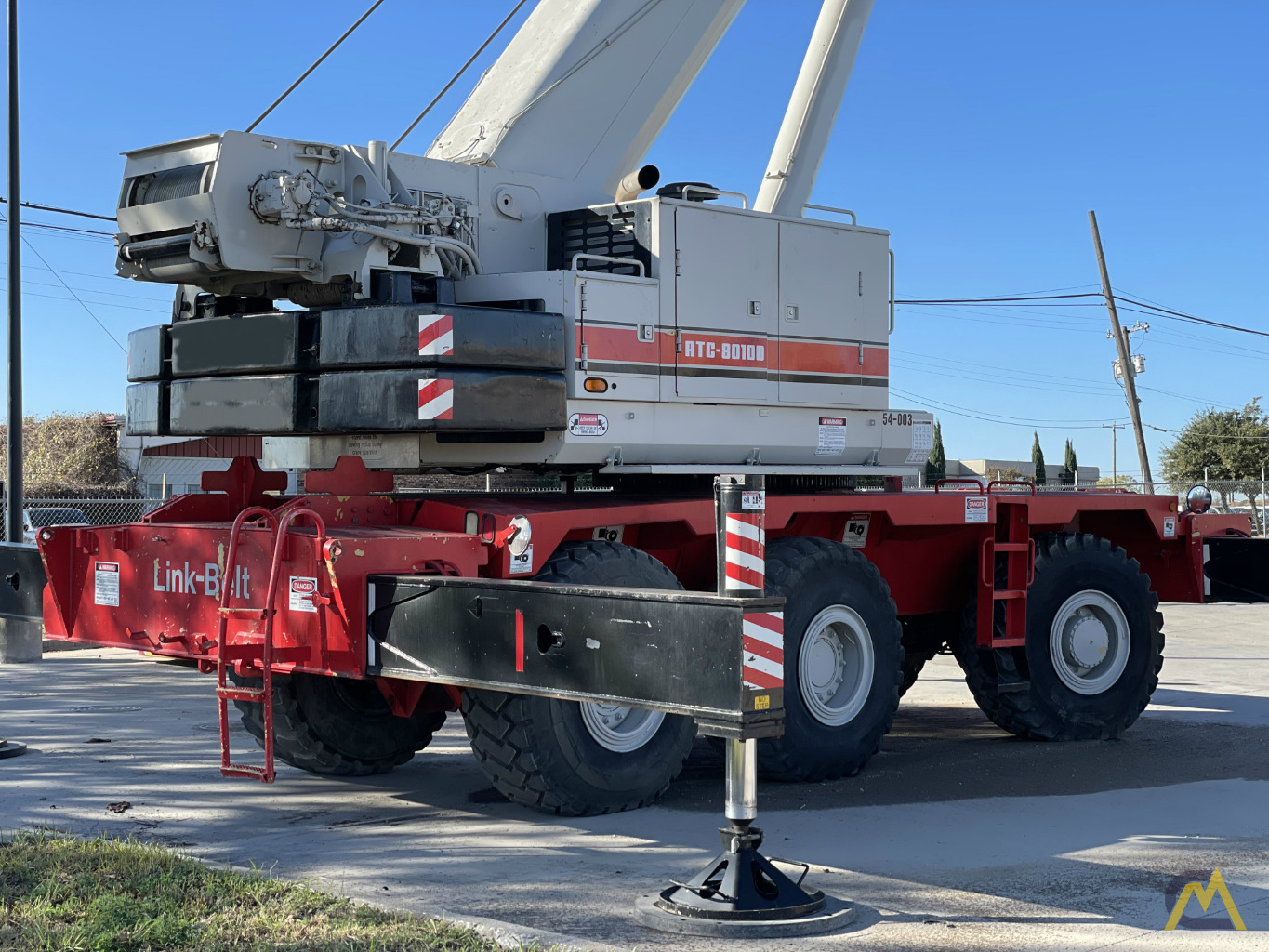 Link-Belt RTC-80100 100-Ton Rough Terrain Crane 2
