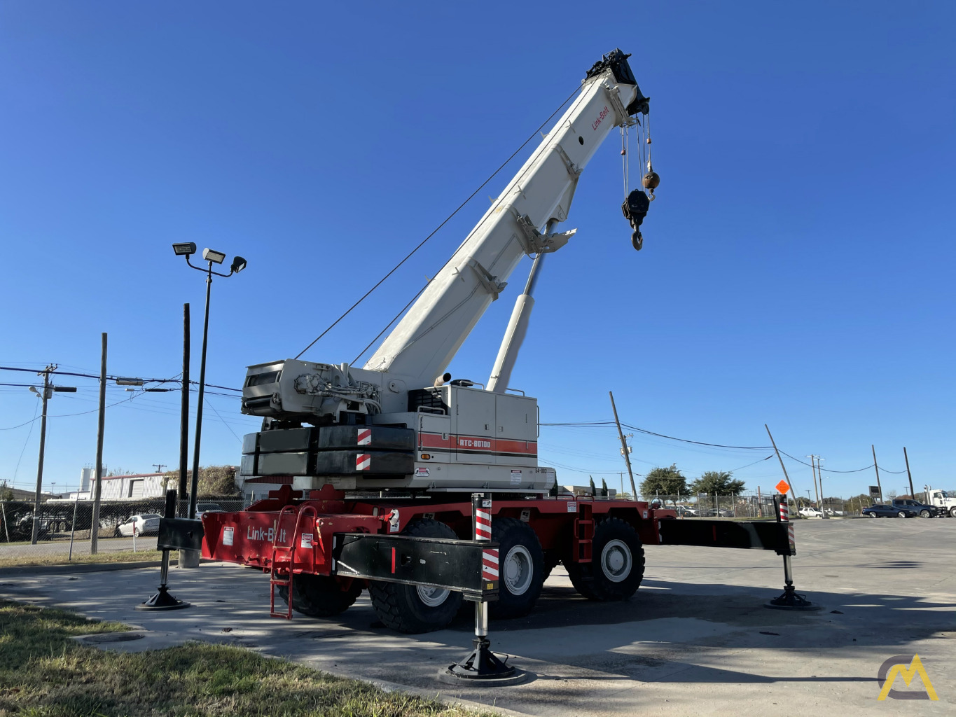 Link-Belt RTC-80100 100-Ton Rough Terrain Crane 3