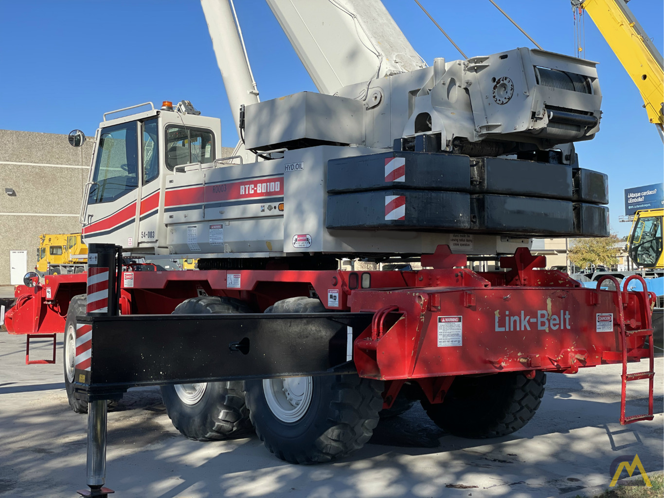 Link-Belt RTC-80100 100-Ton Rough Terrain Crane 4