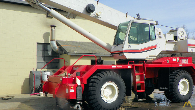 Link-Belt RTC-8050 Series II 50-ton Rough Terrain Crane 1