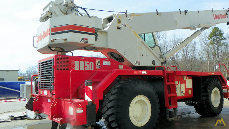 Link-Belt RTC-8050 Series II 50-ton Rough Terrain Crane 5