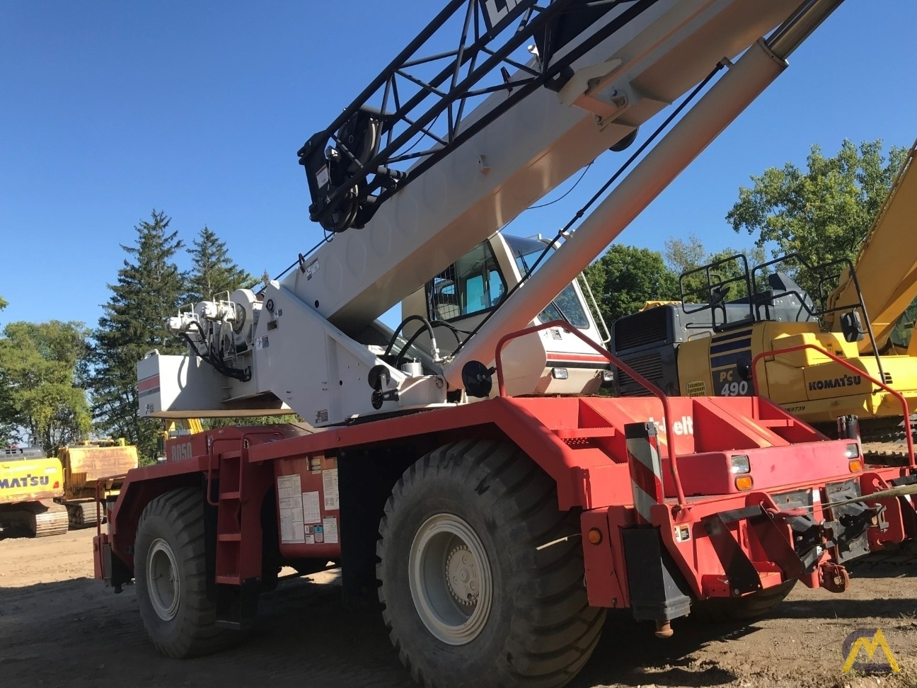 Link-Belt RTC-8050 Series II 50-ton Rough Terrain Cranes 0