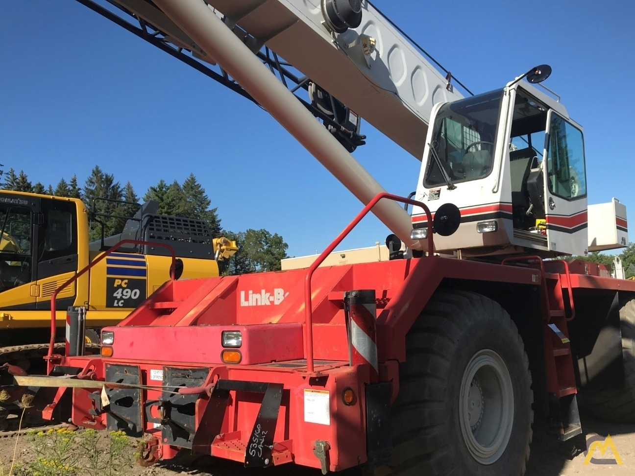 Link-Belt RTC-8050 Series II 50-ton Rough Terrain Cranes 1