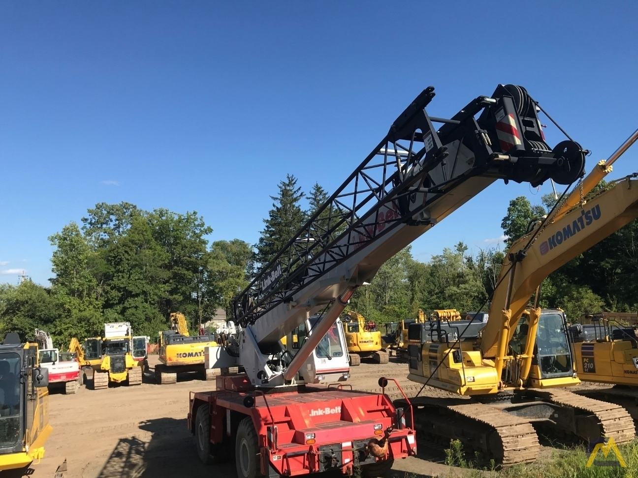 Link-Belt RTC-8050 Series II 50-ton Rough Terrain Cranes 2
