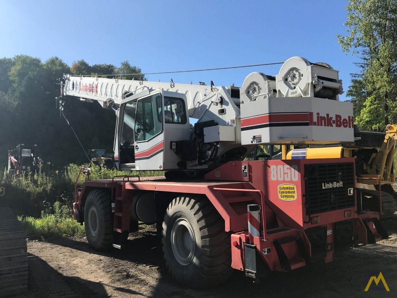 Link-Belt RTC-8050 Series II 50-ton Rough Terrain Cranes 3