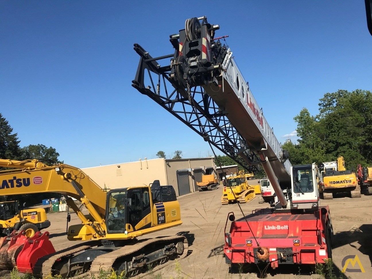 Link-Belt RTC-8050 Series II 50-ton Rough Terrain Cranes 4