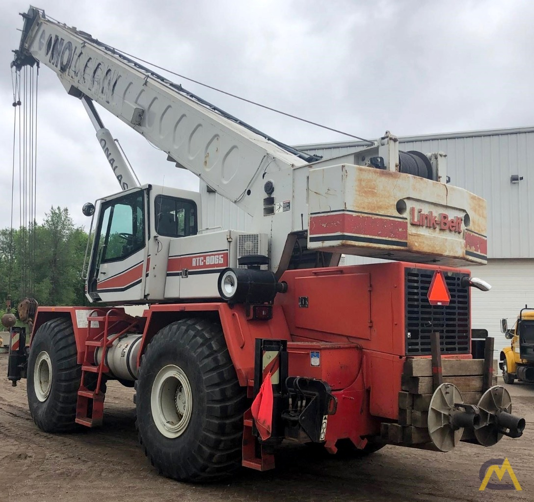 Link-Belt RTC-8065 65-Ton Rough Terrain Crane 1