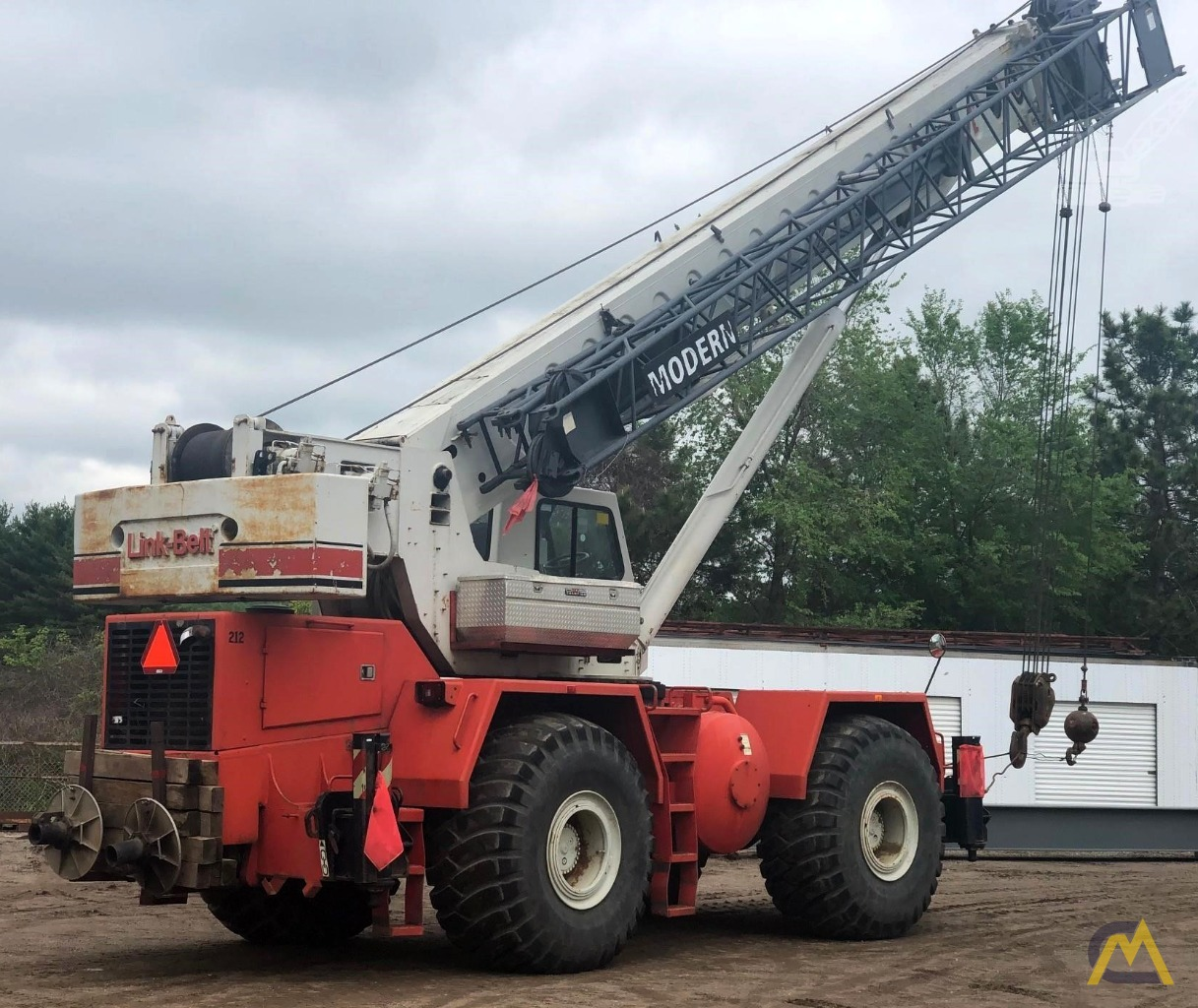 Link-Belt RTC-8065 65-Ton Rough Terrain Crane 0