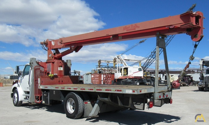 Manitex 1770C 17-ton Boom Truck Crane on Sterling 0