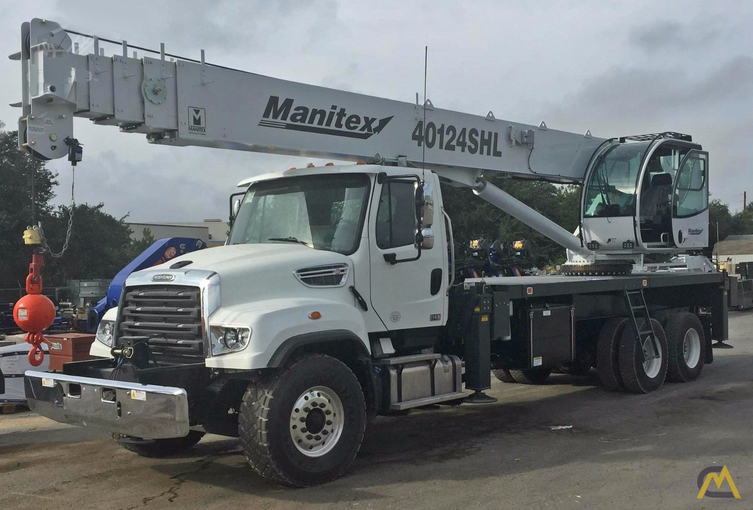 1 United States Steel Wire Rope Manufacturing Companies Contact Us Mail: 40t Manitex 40124SHL Boom Truck Crane Trucks Cranes