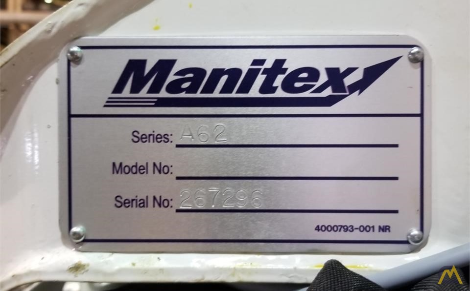 Manitex A62 .25-ton Telescopic Boom Aerial Manlift on Ford 550 1