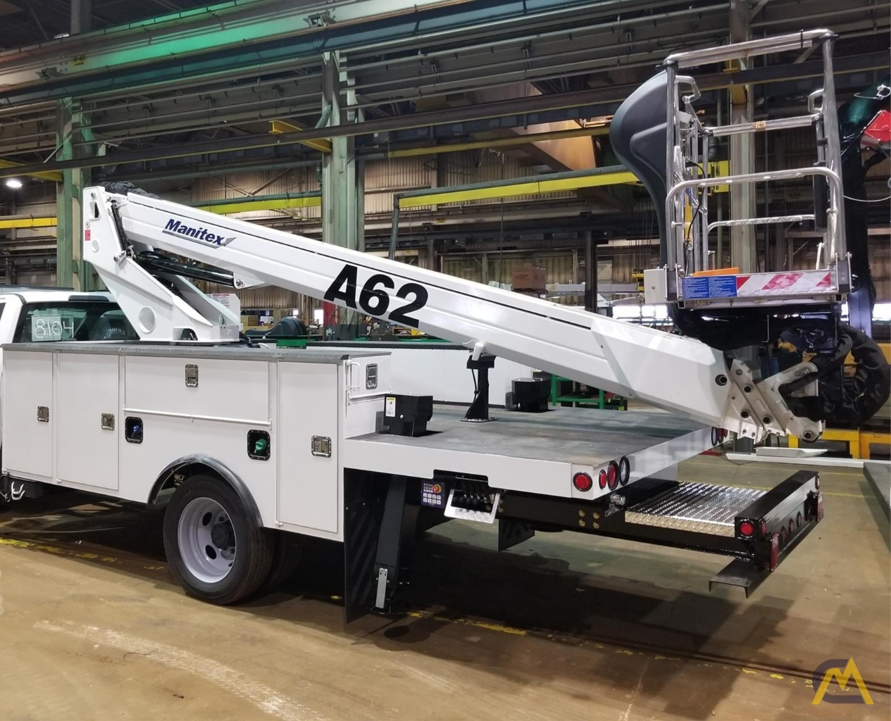 Manitex A62 .25-ton Telescopic Boom Aerial Manlift on Ford 550 3