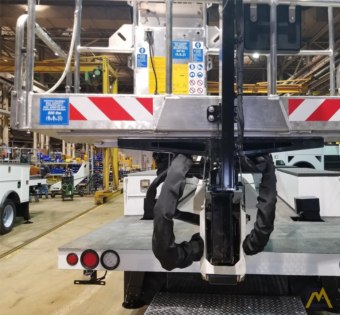 Manitex A62 .25-ton Telescopic Boom Aerial Manlift on Ford 550 4