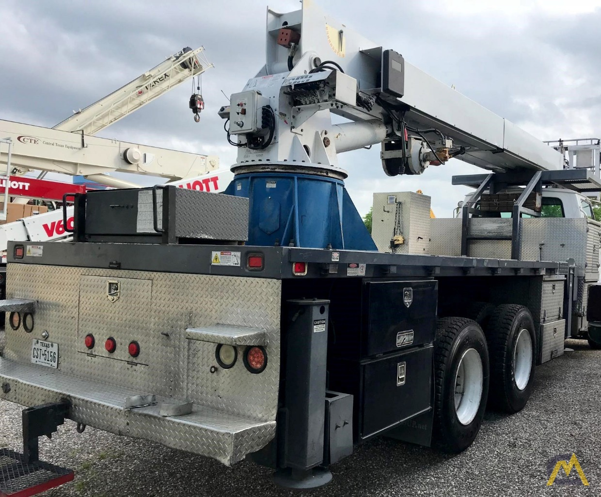 Manitex SC97 Aerial Work Platform on Sterling Chassis 2