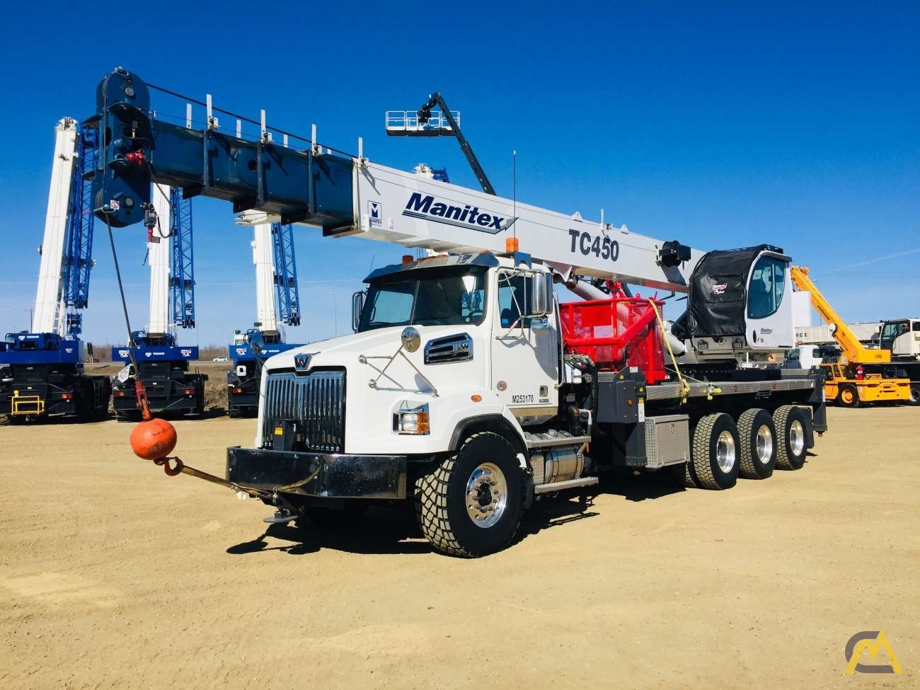 Manitex TC45127 45-Ton Boom Truck Crane For Sale Trucks