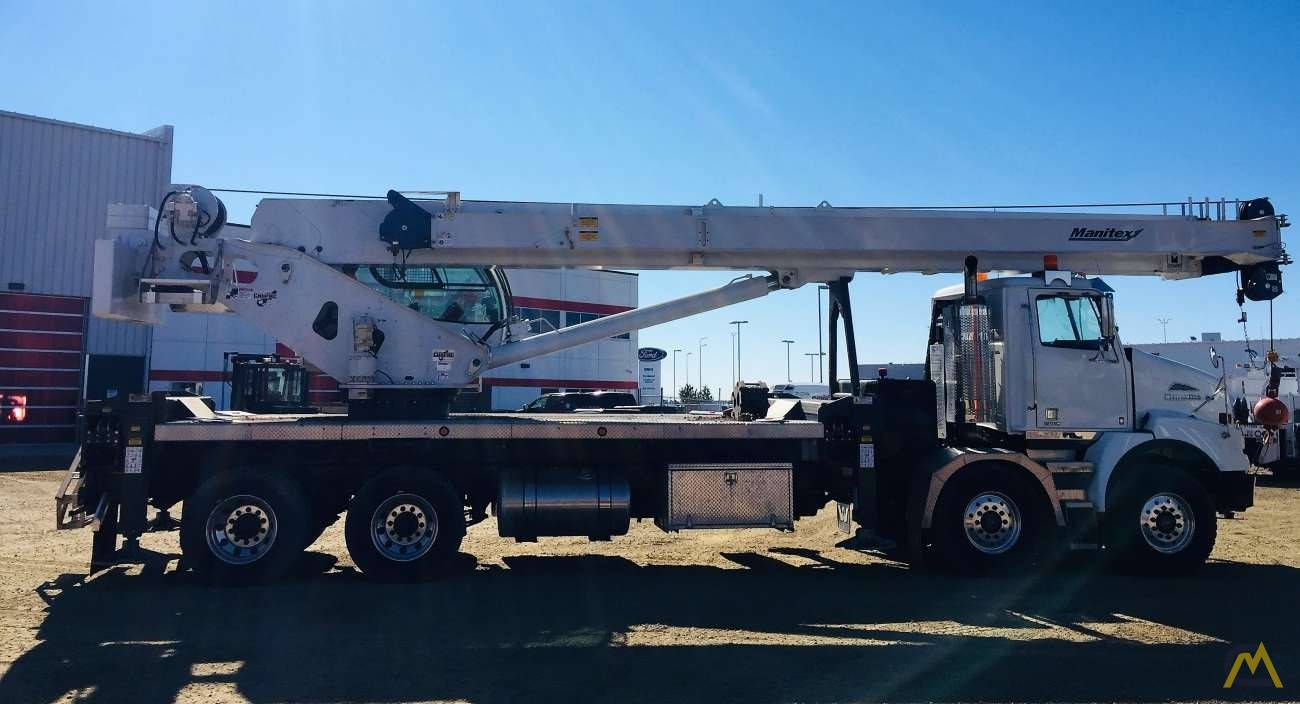 Manitex TC45142 45-Ton Boom Truck Crane For Sale Trucks