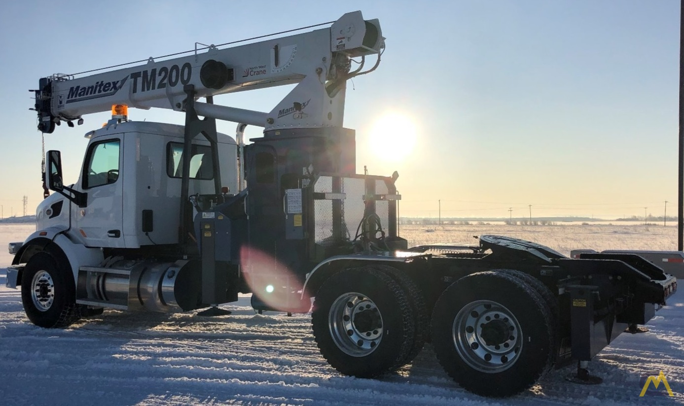 Manitex TM200 20-Ton Boom Truck Crane on Peterbilt 567 0