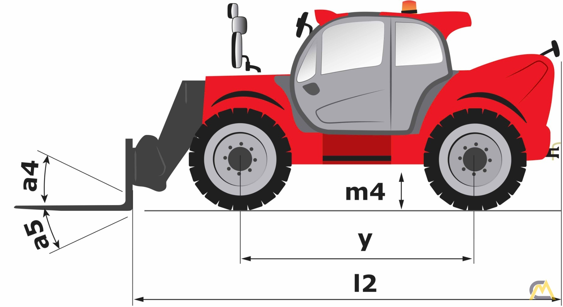 Manitou Mht 10180 High Capacity Telehandler For Sale Or