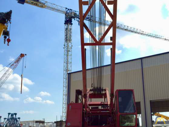 Manitowoc 888 230-Ton Lattice Boom Crawler Crane 1