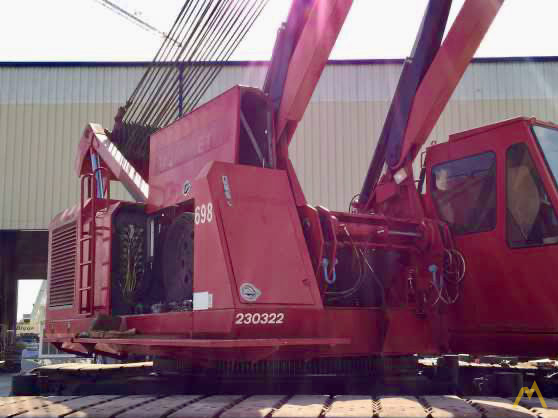 Manitowoc 888 230-Ton Lattice Boom Crawler Crane 2
