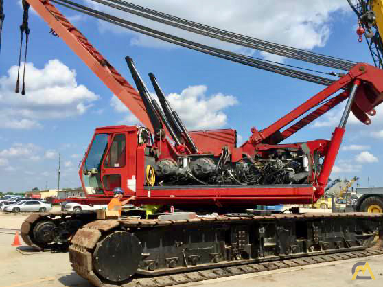 Manitowoc 888 230-Ton Lattice Boom Crawler Crane 6