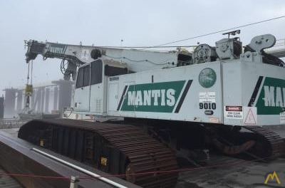 Mantis 9010 45-Ton Telescopic Crawler Crane 0
