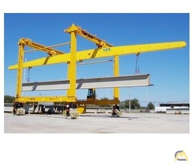 Mi-Jack MJ100 100-Ton Rubber Tired Gantry Crane 0