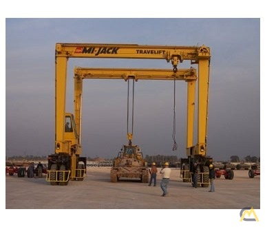 Mi-Jack MJ100 100-Ton Rubber Tired Gantry Crane 2