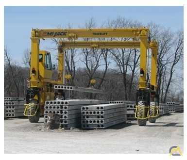 Mi-Jack MJ20 Rubber Tired Gantry Crane 3