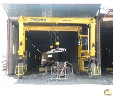 Mi-Jack MJ20 Rubber Tired Gantry Crane 0