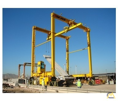 Mi-Jack MJ60 60-Ton Rubber Tired Gantry Crane 0