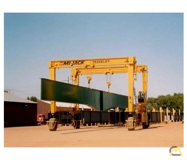 Mi-Jack MJ60 60-Ton Rubber Tired Gantry Crane 1