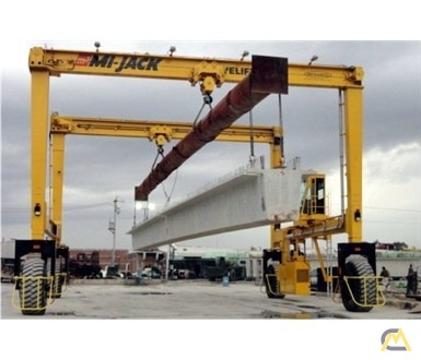 Mi-Jack MJ85 85-Ton Rubber Tired Gantry Crane 0