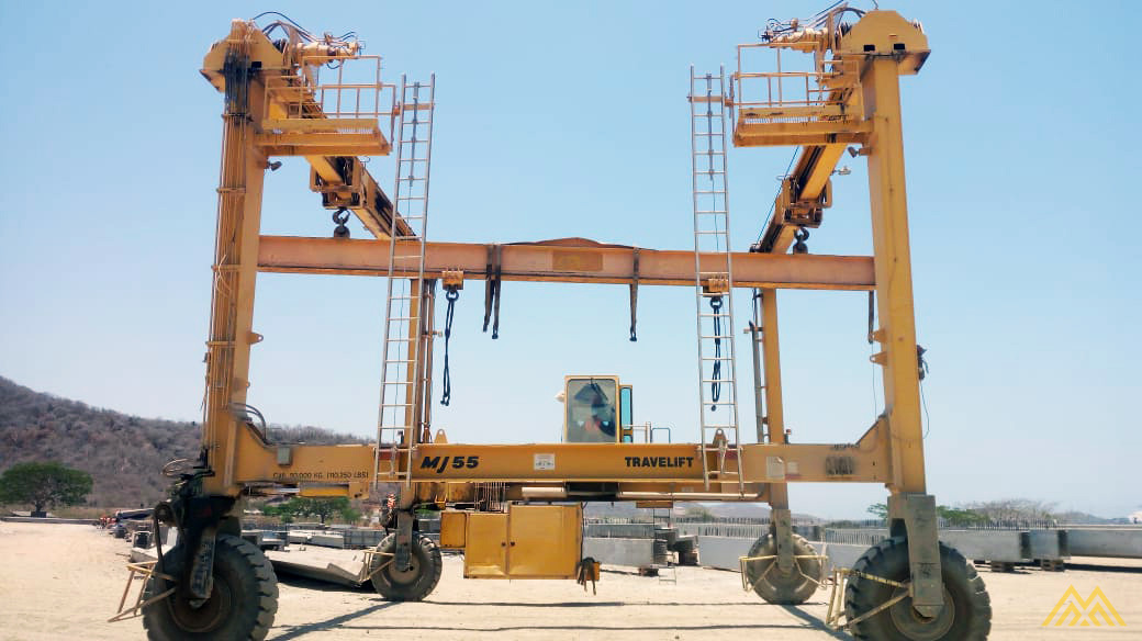 Mi-Jack Travelift MJ55 55-Ton Rubber Tired Gantry Crane 2