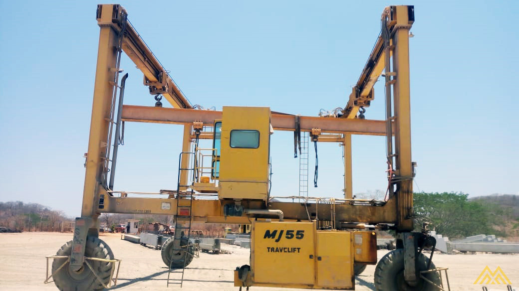 Mi-Jack Travelift MJ55 55-Ton Rubber Tired Gantry Crane 4