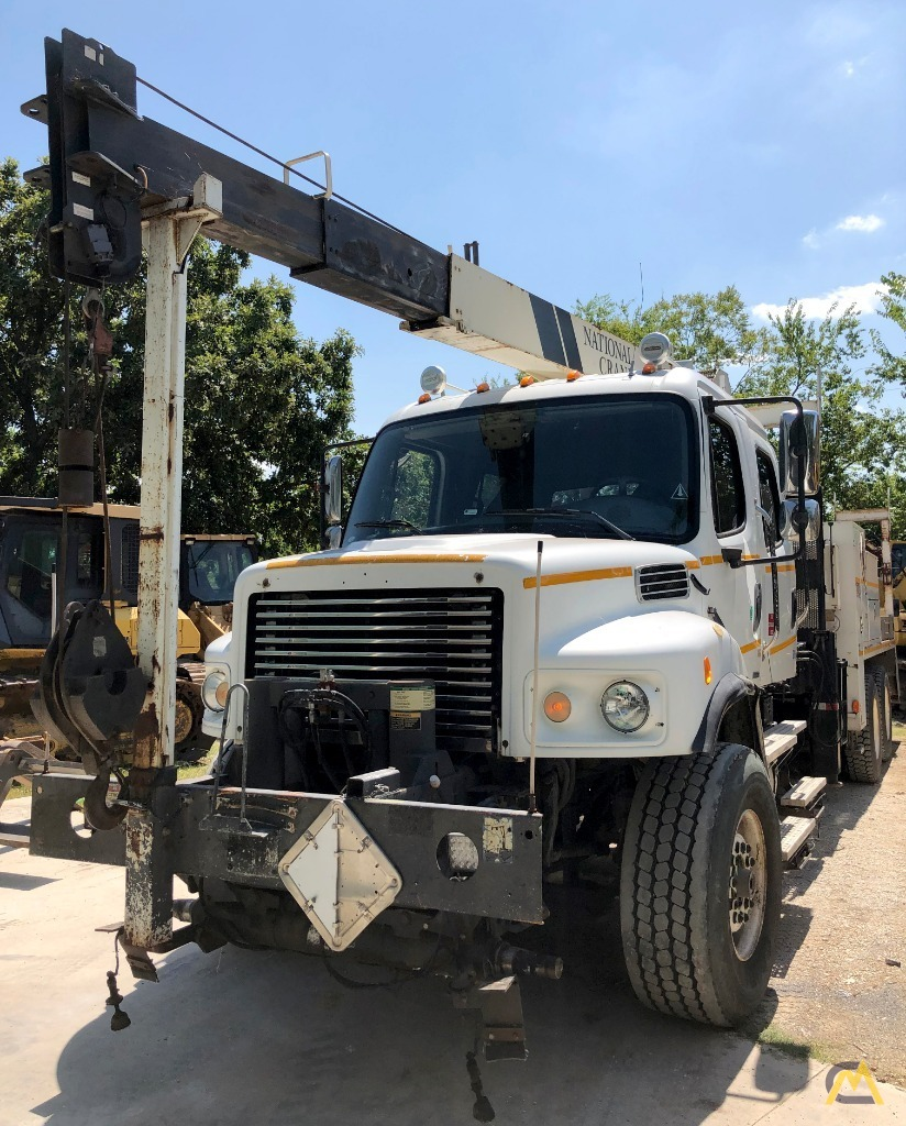 National 400B Series Model 437B 10-ton Boom Truck Crane on Freighliner Business Class M2 2