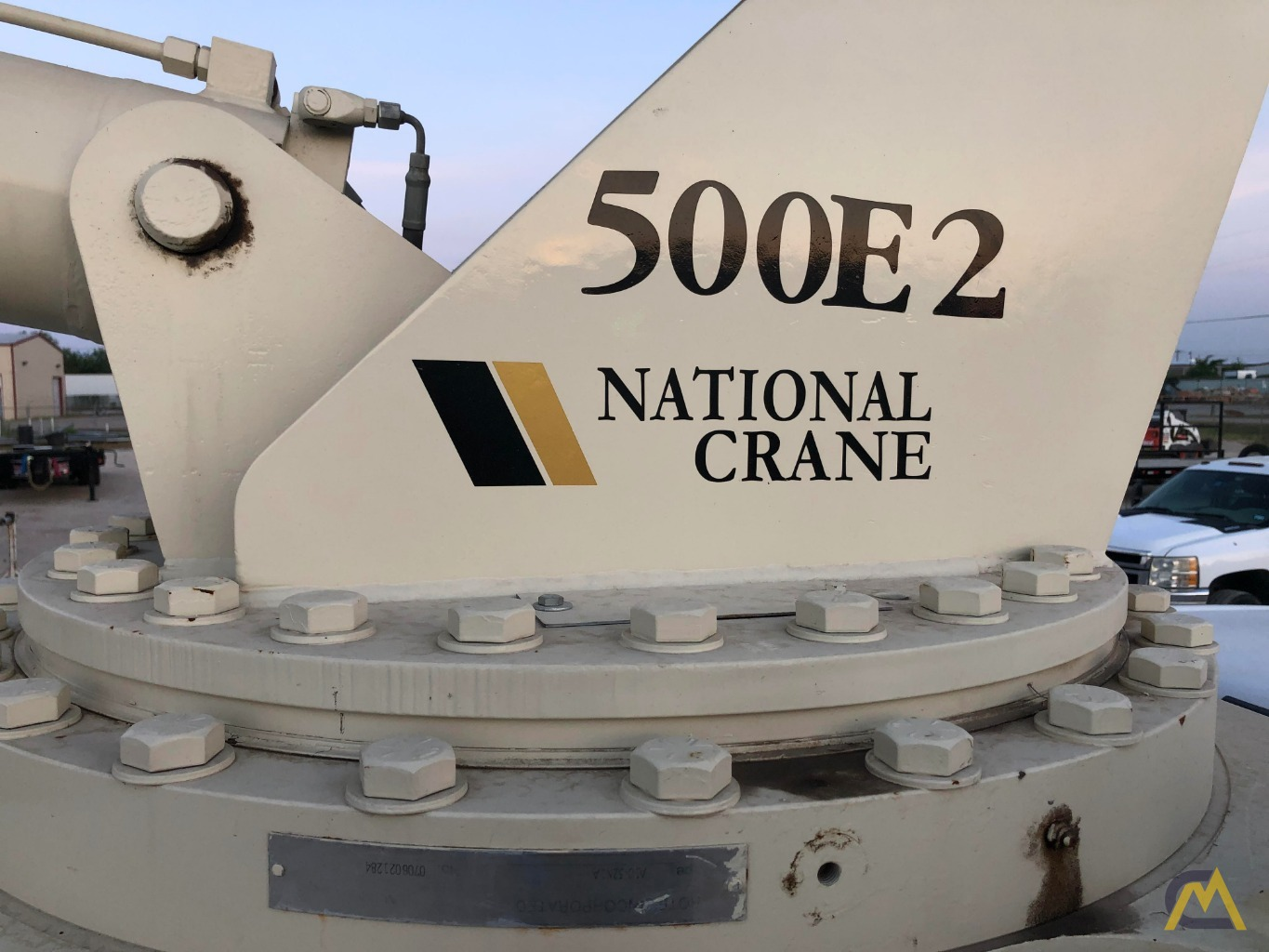 National 500E2 Series 571E2 18-Ton Boom Truck Crane on Ford F750 XL 5