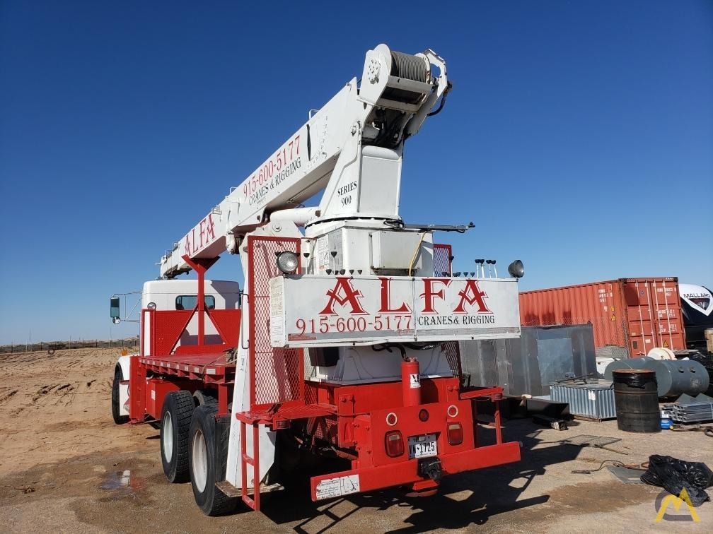 National Series 900A Model 990A 23-Ton Boom Truck Crane on Kenworth 4