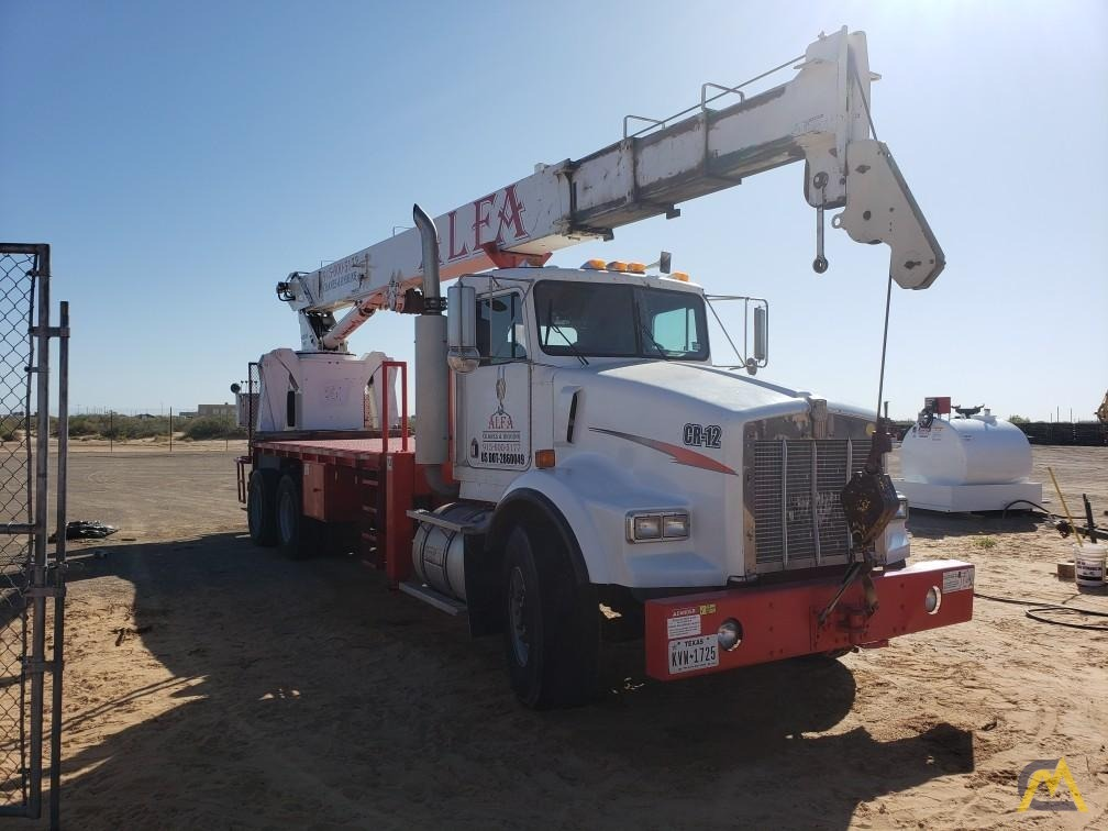 National Series 900A Model 990A 23-Ton Boom Truck Crane on Kenworth 3