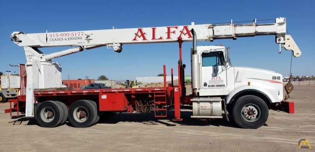 National Series 900A Model 990A 23-Ton Boom Truck Crane on Kenworth 1