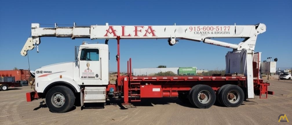 National Series 900A Model 990A 23-Ton Boom Truck Crane on Kenworth 2