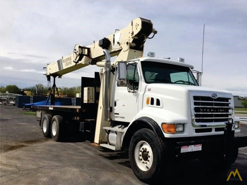 National 9103A 26-ton Boom Truck Crane on Sterling 7500 0