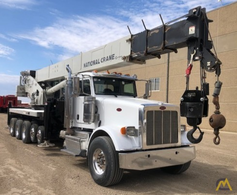 National NBT55-102 50-ton Boom Truck Crane on Peterbilt 367 1