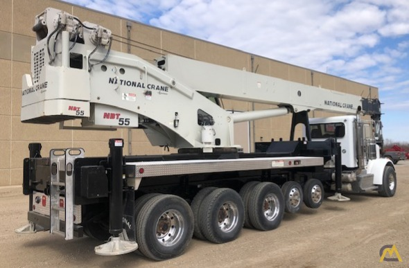 National NBT55-102 50-ton Boom Truck Crane on Peterbilt 367 2