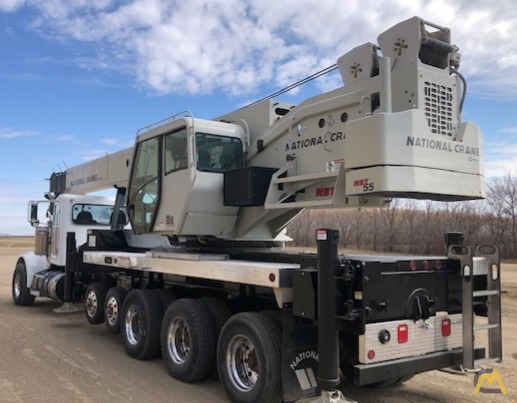 National NBT55-102 50-ton Boom Truck Crane on Peterbilt 367 3